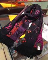 tejer bufanda de cachemira de las mujeres al por mayor-Nueva bufanda para las mujeres de lujo carta patrón Cashmere tejer diseñador bufandas calientes largas bufandas calientes tamaño 180X30 CM de calidad superior