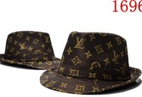 Wholesale brim hats for sale resale online - Brand Designer Cotton Letter Bucket Hat For Mens Womens Foldable Caps Black Fisherman Beach Sun Visor Sale Folding Man casquette Bowler Cap