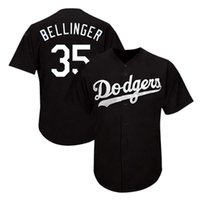 machado trikot großhandel-35 Cody Bellinger Los Angeles # Dodgers Trikot 22 Clayton Kershaw 5 Corey Seager 10 Turner 14 Enrique Hernandez 8 Machado Baseball