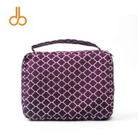 Wholesale bible covers resale online - Blanks Quatrefoil Bible Cover Book Bag good quality Polyester Journal Cover Diary Bag cosmetic bag DOM028