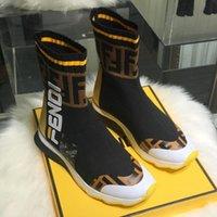 top-athletic-marken großhandel-Gestrickte Schuhe Socken Damenmode Marke Sneakers Luxus Designer Schuhe Top Qualität Lauf Herren Leichtathletik Walking Loafers Zx36
