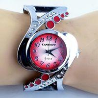 Wholesale branded girl watch stainless steel resale online - Limited Brand Women s Watch Steel Strap Sand Diamond Bracelet Women Watch Fashion Female Girls Clock Quartz Wristwatches