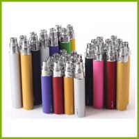Wholesale case zippers resale online - Ego T Battery For Electronic Cigarettes E cig mah mah mah for Thread Ce4 Ce5 MT3 H2 Blister case or Zipper kit