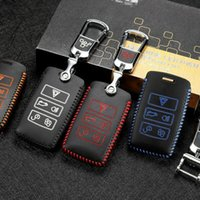 Discount key covers for range rover For Range Rover Velar 2018 Smart Key Keyless Remote Entry Fob Case Cover
