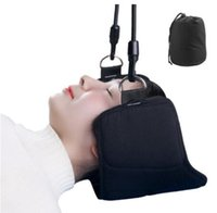 Wholesale neck support massager for sale - Group buy fashion portable Neck Pain Relief relaxing Hammock neck Massager hammock Support For Home Office Hammocks Home Furniture