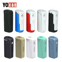 Wholesale usb battery holder for sale - Group buy Yocan UNI Box MOD mAh built in battery VV Box MOD Micro USB Port With adjustable knob adjustable atomizer holder Authentics