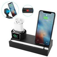 produits de pont achat en gros de-Chargeur sans fil Support de téléphone portable Support de charge Station de recharge Multi-fonctions sur plate-forme Integrative Intelligent Products Compatibi