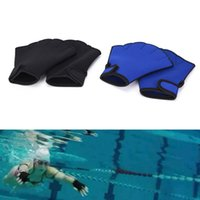 yüzme neopren kıyafeti toptan satış-Neopren Tüplü Dalış Eldiven Dalış Dalgıç Ekipmanları Yüzmek Su Dalış Yüzme Için Kayak Sörf Spearfishing Islak Elbise 20