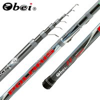 Wholesale ultra light rods resale online - obei polaris Telescopic Portable Bolo Fishing Rod m Travel Ultra Light Spinning Casting float fishing G pole