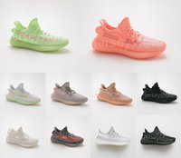 Wholesale shoes from resale online - Designer sneakers V2 mens and womens running shoes Black Noir CLAY GID Hyperspace M Luminous static Reflective true from basketball shoes
