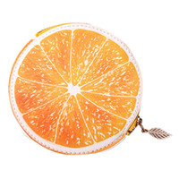 dessins mignons de cartes de crédit achat en gros de-Mignon Fruit Design Femmes De Mode En Cuir Carte de Crédit En espèces Titulaire De Reçu Organisateur Portefeuille Coin Porte-monnaie Zipper