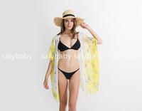 bikini fashion beach achat en gros de-Nouveau style de mode petit motif de papillon plage natation bikini châle couleurs Cover-Ups peut faire drop shipping