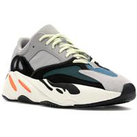 hombres corriendo entrenadores al por mayor-Wave Runner 700 Mauve Static Solid Grey Zapatillas de running para hombre Zapatillas Mujer Zapatillas deportivas 700s Zapatos de diseño 9 colores
