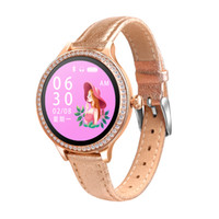 sehen sie kinder handy gps großhandel-Woman Smart Sports Watch Farbdisplay unterstützt mehrsprachige Android-Handys mit Herzfrequenz und Blutdrucksperre