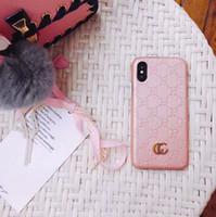 capa de couro de luxo galaxy note venda por atacado-Moda de luxo phone case para iphone x xr xs max 7 8 8 plus couro hard case designer para galaxy s10 plus s10e s9 s8 s8plus nota 9 8