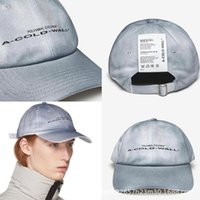 Wholesale dome labels for sale - ACW Ball Caps Colors High Street Letter Printed Label Design Cap A COLD WALL Designer Caps for Men Women Unisex