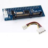 masaüstü ide toptan satış-Eski Moda Sabit Disk Optik Sürücü Seri Port Paralel IDE Masaüstü Video Kaydedici için SATA Konnektör Adaptörü Kartı