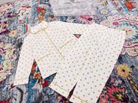 ingrosso indumenti da notte in cotone per bambini-pigiami a strisce di cotone di estate delle ragazze dei ragazzi del bambino di trasporto più recenti indumenti da notte degli indumenti da notte degli indumenti da notte degli insiemi della camicia da notte 2-12T