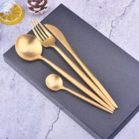 ingrosso forchette occidentali-set di posate Western in argento 304 402 acciaio inossidabile Cucchiaio da cucina Cucchiaio forchetta Coltello Abito Servizio da tavola per banchetti Decorazione di nozze