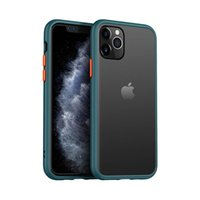 Wholesale iphone soft edges for sale – best Slim Fit for iPhone Series Pro Max Translucent Matte Case with Soft Edges Shockproof Protective Case Cover