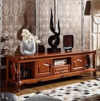 подставка из цветного дерева оптовых-Горячая распродажа новое поступление высокая гостиная деревянная мебель белый цвет жк-телевизор подставка o1139