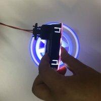 araba kapısı lazer gölge aydınlatma toptan satış-Araba Kapı Hoşgeldiniz Lazer Projektör Logo Kapı Hayalet Gölge Vo + lkswa + gen için LED Işık