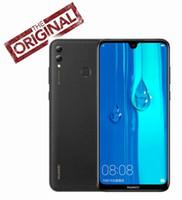 huawei octa phone оптовых-Глобальная прошивка Huawei Enjoy Max 4 ГБ ОЗУ 64 ГБ / 128 ГБ ROM Snapdragon 660 Octa core Двойная задняя камера 7,12 дюйма 5000 мАч Сотовый телефон