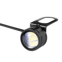 kartal lambası toptan satış-10pcs Kartal Göz LED 22mm Hawk Eye DRL Gündüz Motosiklet Oto Araba için Işıklar Ters Yedekleme Sinyal Ampuller Sis Lambası Running