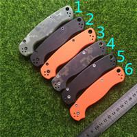 venda facas para caminhadas venda por atacado-Spider paramilitar C81 faca de bloqueio traseiro CPM-S30V - G10 lidar com acessórios CNC