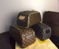 vente de portefeuille achat en gros de-2019 trousses à sacs pour femmes Trousses à maquillage pour dames soldes Mode femme Classiques Portefeuilles Casual Sacs à main Trousses à maquillage Sac Ensemble