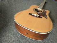 venta de guitarras de fábrica al por mayor-Factory Oulet Guitarra acústica de 41 pulgadas Guitarra acústica colibrí natural EN VENTA CALIENTE DE STOCK