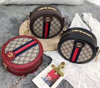 herbst weibliche modelle großhandel-Herbst- und Wintermodelle neue runde Kuchentasche weibliche japanische und koreanische Mode wilde kleine runde Tasche weibliche Pendlerfabrik direkter Großhandel
