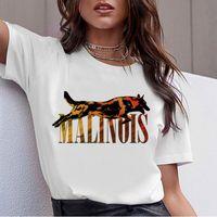 lindo toro al por mayor-Beagle Border Collie Malinois 90s Camiseta Mujer Korean Bull Terrier Rottweiler Camiseta Cute Whippet Greyhound Camiseta Tops Mujer