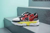 yeni i̇talya kadın ayakkabıları toptan satış-2019 Yeni İtalya Marka Maison Margiela Erimiş Detay Fusion Spor Ayakkabı Çözme Baba Ayakkabı Tasarımcısı Kadın Erkek Clunky Sneakers