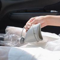 urinol de carro portátil venda por atacado-Viagens de Carro portátil Ao Ar Livre Adulto Mictórios para Homem Mulher Funil Potty Embudo Orina Fazer Xixi Camping Tráfego de Emergência Do Toalete