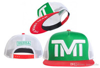 tope de dinero al por mayor-Nuevo signo de dólar The Money TMT Gorras Snapback Gorras Hip Hop Swag sombreros Moda para hombre Gorra de béisbol Marca para hombres Mujeres