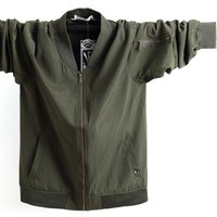 жирная мода оптовых-2019 New Fashion  Casual Large size jacket men Fat and fat Mens jaqueta masculina plus size 5XL 6XL 7XL