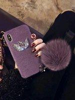 алмазный гусь оптовых-Goose Diamond Shell Шар для волос в осенне-зимний чехол для телефона для Huawei P10 P20 Pro Чехол для телефона для iphone xs max 7 8 6 Plus