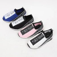 Wholesale kids girls footwear for sale - Group buy Kids Trainers Designer Toddlers Shoes for Boys and Girls Breathable Designer Shoes For Children s High End Footwear With box