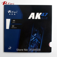 Wholesale wood ak47 for sale - Group buy Palio official blue Ak47 table tennis rubber blue sponge for loop and fast attack new style for racquet game ping pong C18112001