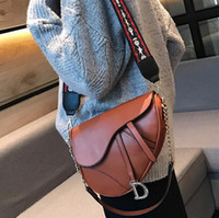 ingrosso cinghie del sacchetto all'ingrosso-Borsa a tracolla di cuoio di personalità del sacchetto del messaggero della borsa della spalla di modo della via delle donne di marca della borsa all'ingrosso di modo