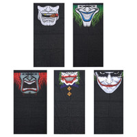 Wholesale red mouth mask resale online - Windproof Skull Mouth Mask seamless magic bandanas outdoor sports washouts ride muffler scarf face mask