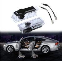 lazer logosu bmw açtı toptan satış-Fabrika Doğrudan Uygulanabilir BMW Hoşgeldin Işık LED Kapı Logo Işık Adanmış Lazer Projeksiyon Işık