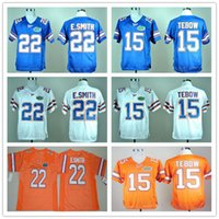 florida gators fußball jerseys groihandel-2020 NCAA Florida Gators College-Tim Tebow 15 Trikots Herren Emmitt Smith 6 Jeff Driskel Fußballjerseys Universität Stickerei S-3XL