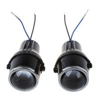 lente xenon universal venda por atacado-Novo 2 Pcs 55 W H3 Universal HID Xenon Halogênio Fog Light Bulb Lamp Lente Auto Carro