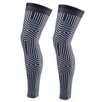 Wholesale cycling bicycle bike men s resale online - ZM chuangdi brand Bike Cycling Leg Warmers Sleeve Sunscreen Men Women Mountain Bicycle Oversleeve UV Protection S XXL