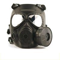 masque de wargame achat en gros de-Masques tête tactique résineuses Visage Fog Fan Pour CS Wargame Airsoft Dummy Masque à gaz avec ventilateur pour la protection cosplay