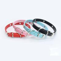 кошки домашних собак оптовых-Metal bone decorative dog collar dog with chain exquisite adjustable buckle metal bone puppy pet collar
