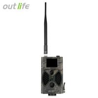 câmeras de bolota venda por atacado-Outlife hc - 300 m câmera de caça digital 12 MP 1080 P 40 pcs Infra LEDs 940nm Night Vision Trail câmera