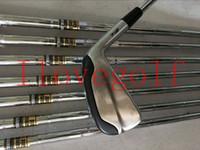 eisen golf mb großhandel-Golfschläger Nagelneu 718 T-MB Golfschläger Eisen Set T-MB 718 Golfschläger 3-9P Regular / Stiff Steel / Graphite Shafts DHL geben Verschiffen frei